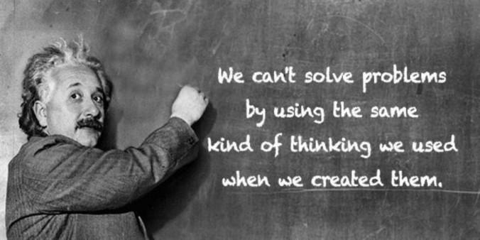 Einstein-creativity-problems